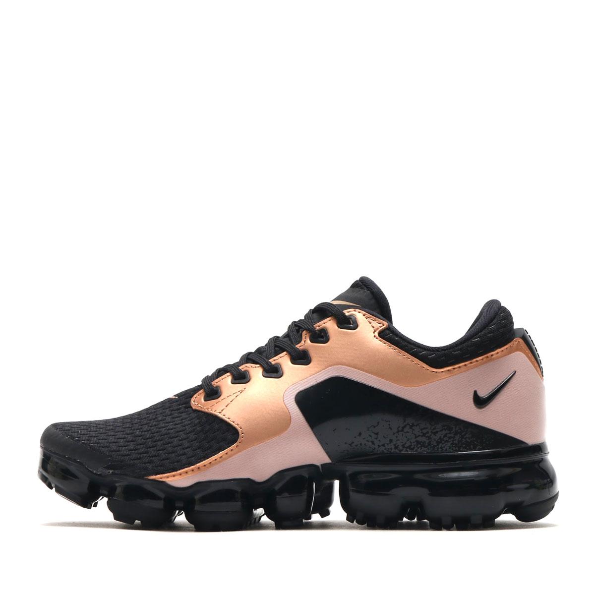 1dbd3a013191 NIKE WMNS AIR VAPORMAX (Nike women air vapor max) (BLACK BLACK-BLACK-MTLC  RED BRONZE) 17HO-S