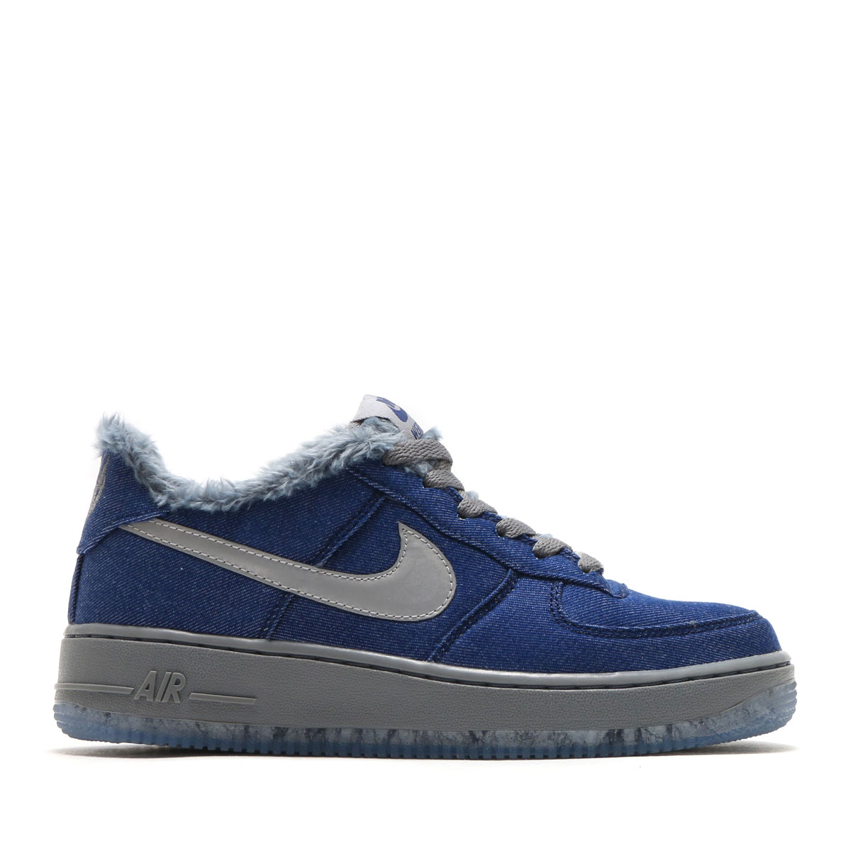 ... AJ4234-400 Denimwolf grey Youth NIKE AIR FORCE 1 PINNACLE QS (GS) (Nike  air force 1 Pinnacle QS ... 1bca601f7