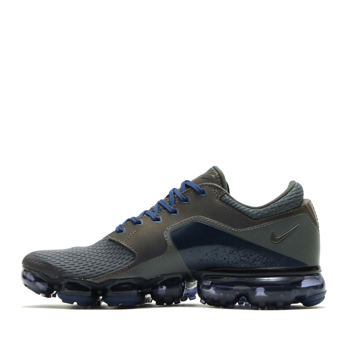 NIKE AIR VAPORMAX R (Nike air vapor max R)(MIDNIGHT FOG MIDNIGHT FOG- MIDNIGHT NAVY)17HO-S 71ed63327