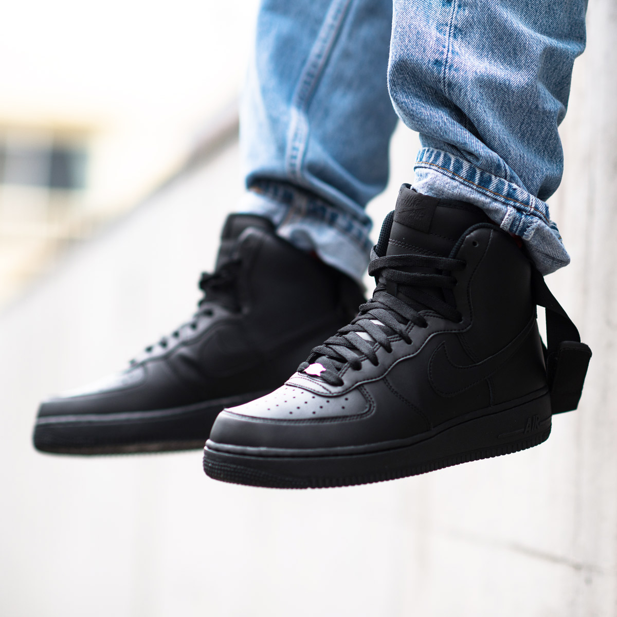 nike air force 1 07 black