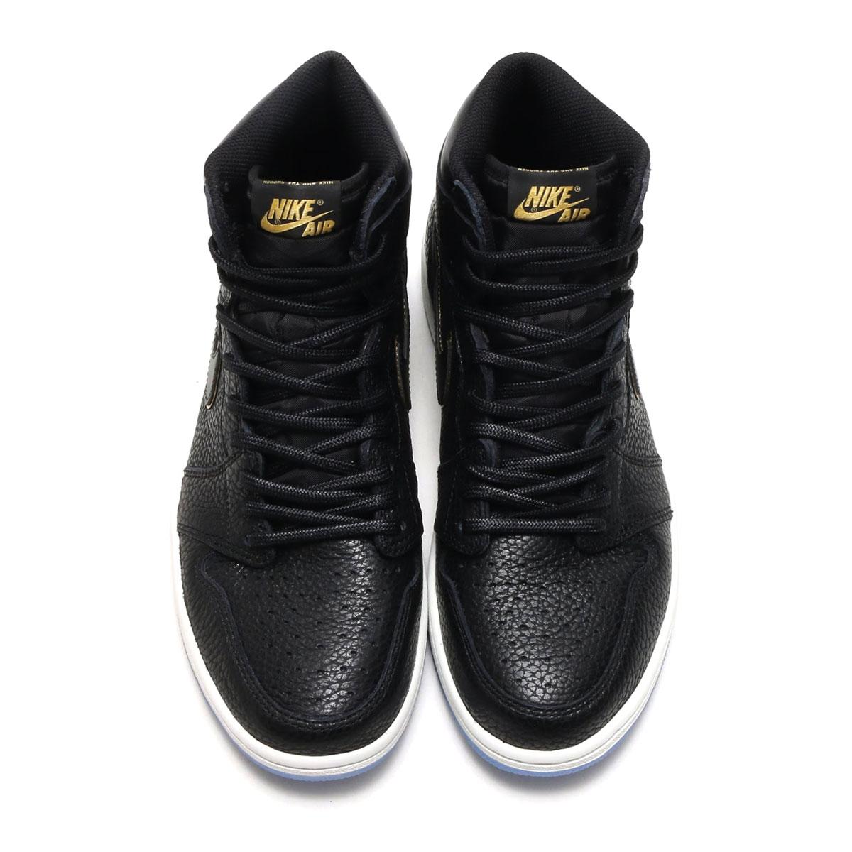 separation shoes 41d07 23b87 NIKE AIR JORDAN 1 RETRO HIGH OG (Nike Air Jordan 1 nostalgic high OG) (BLACK  METALLIC GOLD-SUMMIT WHITE) 18SP-S