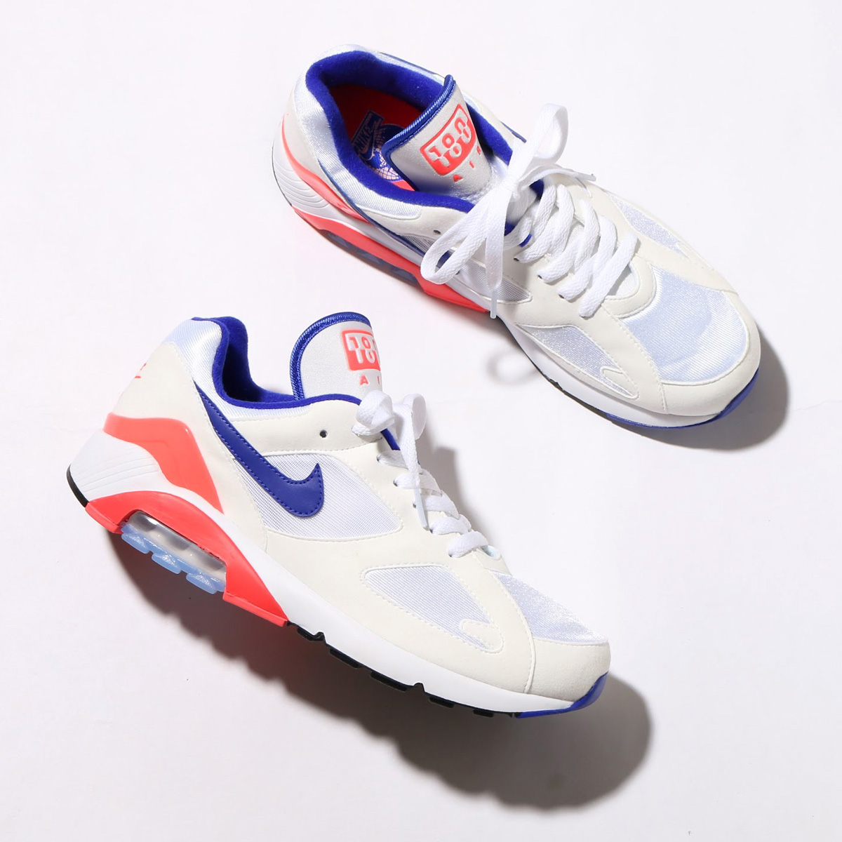 maximum point 10 times that is targeted for all articles! NIKE AIR MAX 180  (Kie Ney AMAX 180) (WHITE ULTRAMARINE-SOLAR RED) 18SP-S 743e318a8