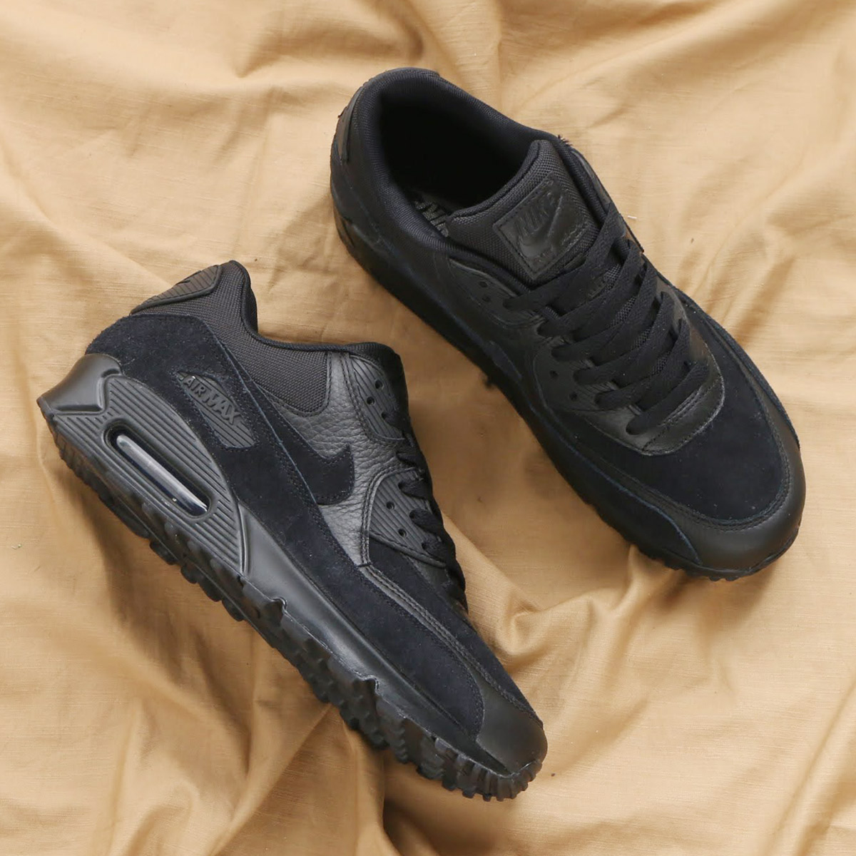 reputable site 49aed d266b maximum point 10 times that is targeted for all articles! NIKE AIR MAX 90  PREMIUM (Kie Ney AMAX 90 premium) (BLACK BLACK) 18SP-S