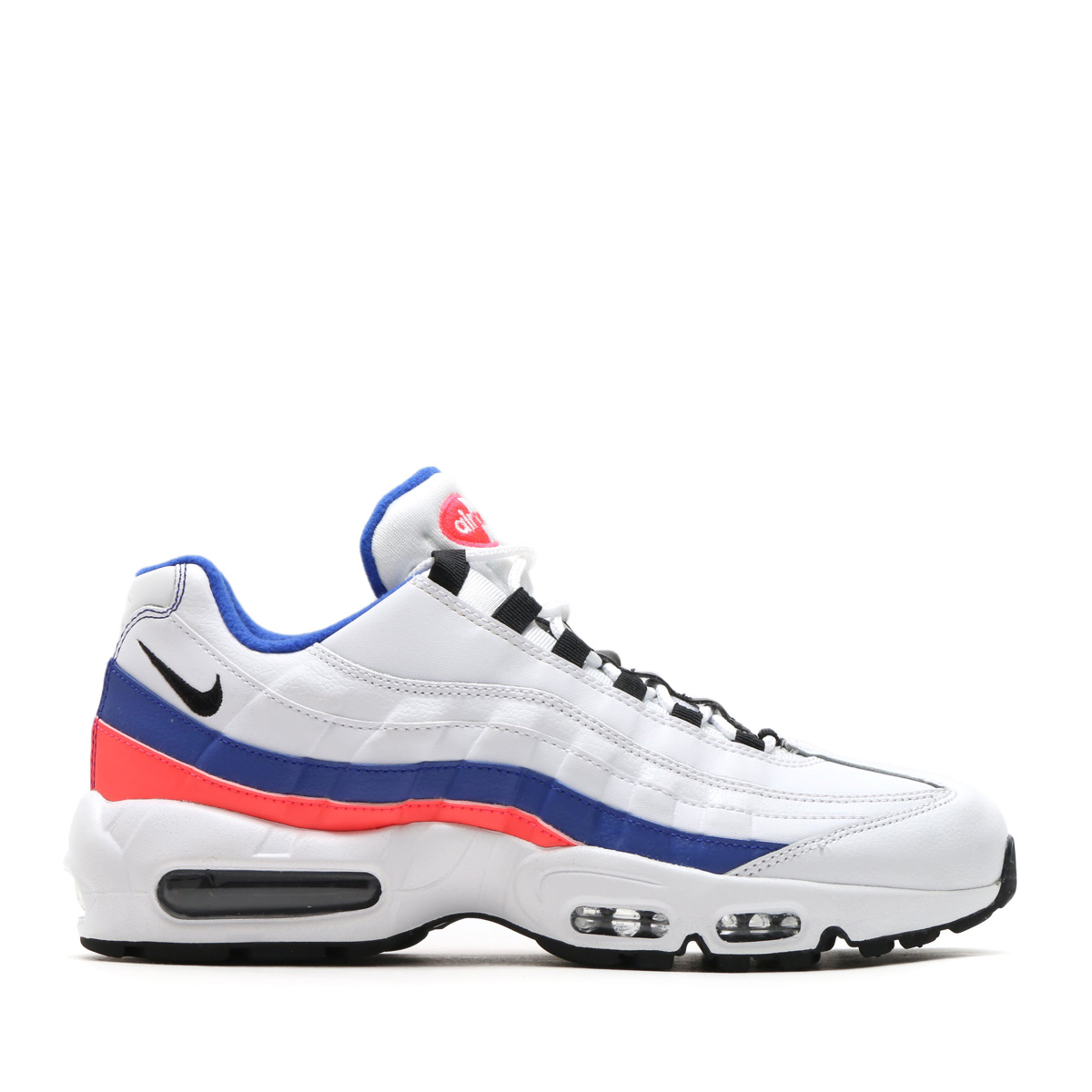 maximum point 10 times that is targeted for all articles! NIKE AIR MAX 95  ESSENTIAL (Kie Ney AMAX 95 essential) (WHITE BLACK-SOLAR RED-ULTRAMARINE)  18SP-S 36f4346a3
