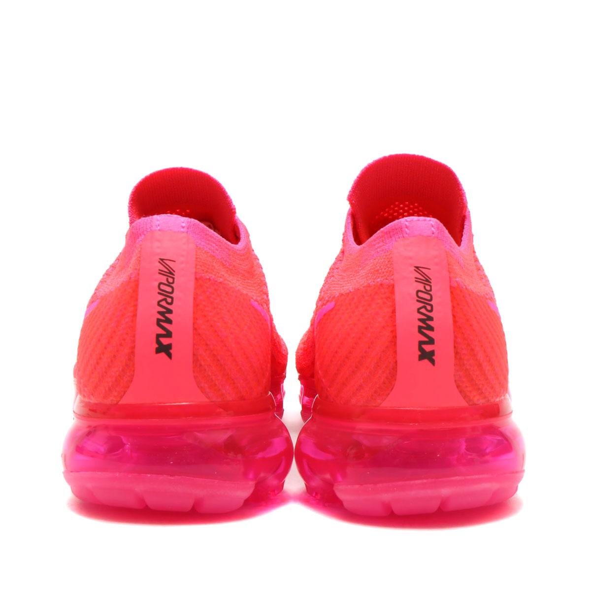 a138c2166d89 NIKE WMNS AIR VAPORMAX FLYKNIT (Nike women air vapor max fried food knit) (HYPER  PUNCH PINK BLAST-HOT PUNCH-BLACK) 18SP-S