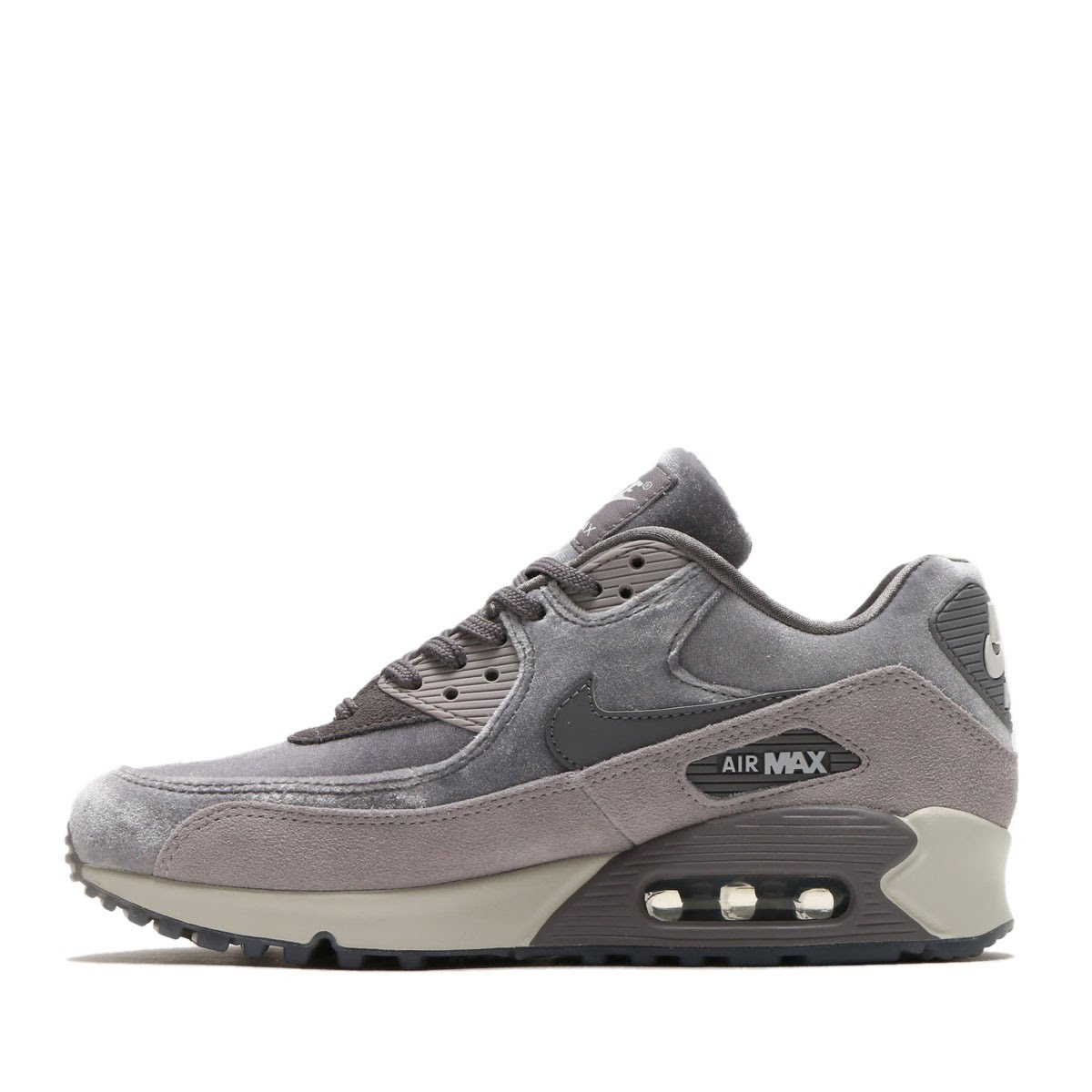 check out 58245 d1284 NIKE WMNS AIR MAX 90 LX (Nike women Air Max 90 LX) (GUNSMOKEGUNSMOKE-ATMOSPHERE  GREY) 18SP-S