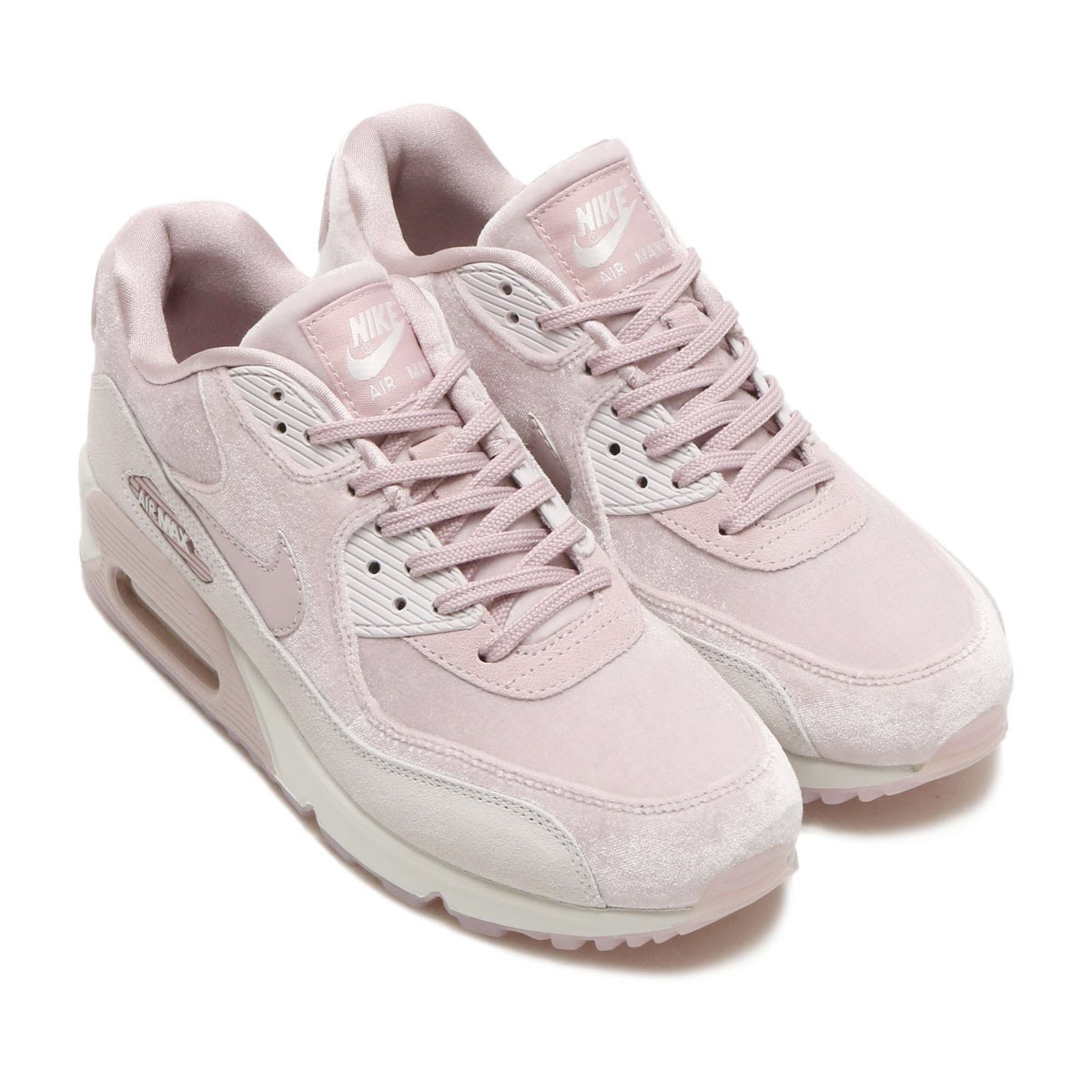 NIKE WMNS AIR MAX 90 LX (Nike women Air Max 90 LX) (PARTICLE ROSE PARTICLE  ROSE-VAST GREY) 18SP-S 5a9504698