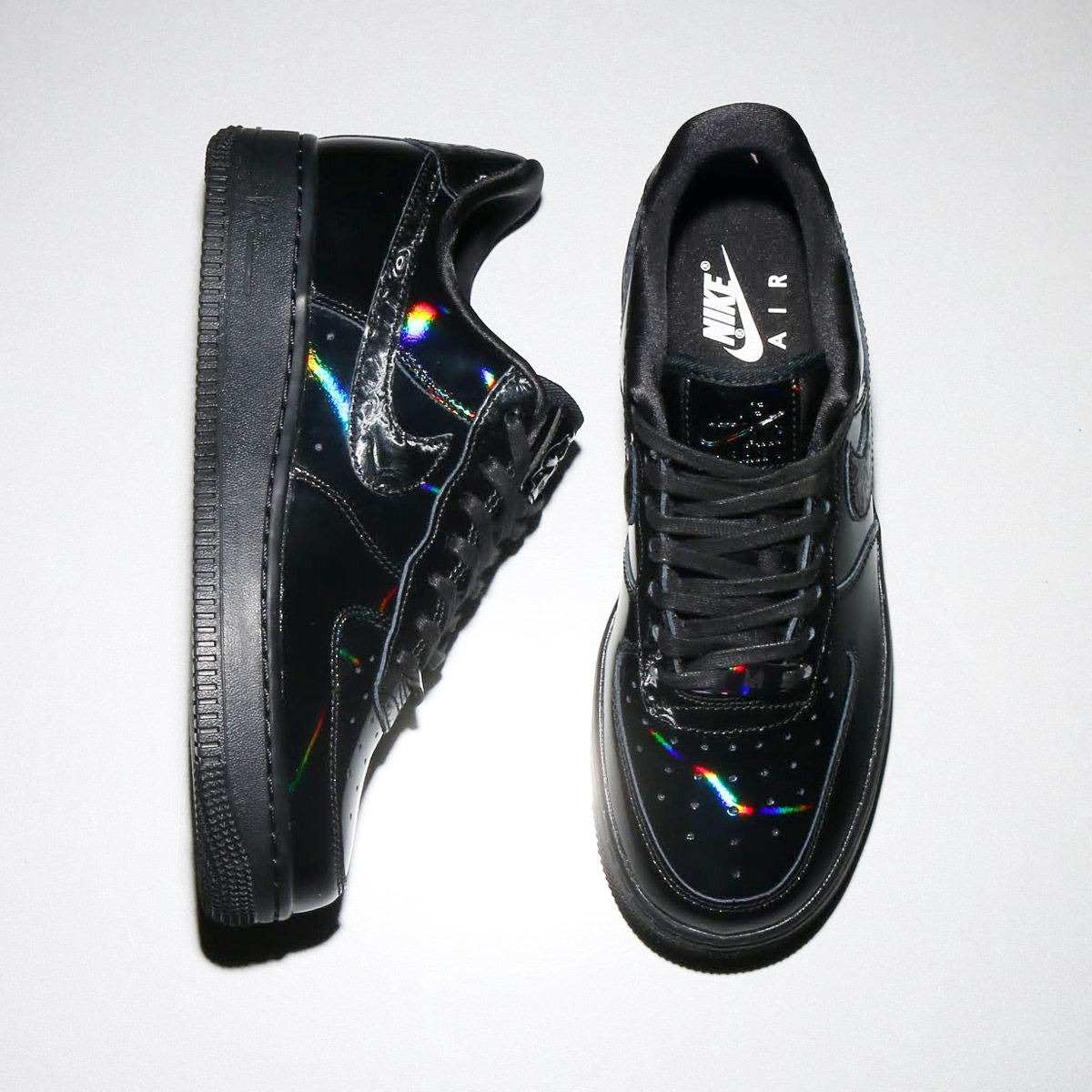 promo code 5dddb e0019 NIKE WMNS AIR FORCE 1  07 LX (Nike women air force 1 07 LX) (BLACK BLACK-SUMMIT  WHITE)18SP-S