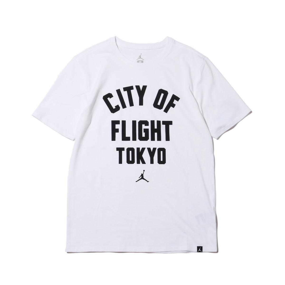 eefc4934eccbd7 atmos pink  NIKE M JSW TEE COF ZIPCODE (Nike Jordan JSW COF zip code S S T- shirt) (WHITE BLACK TOKYO)18SP-S