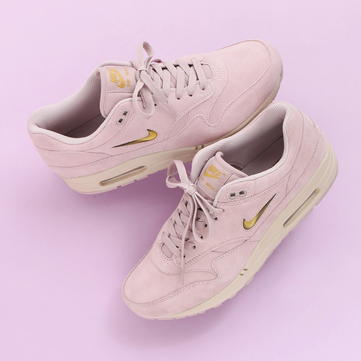 watch e1415 b7ff0 ... ☆ maximum point 10 times that is targeted for all articles! NIKE AIR  MAX 1 PREMIUM SC (Kie Ney AMAX 1 premium SC) (PARTICLE ROSE METALLIC  GOLD-DESERT ...