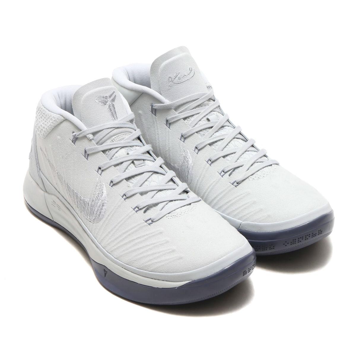 f003cccf34b6 NIKE KOBE AD EP (Nike Corby AD EP) (PURE PLATINUM WHITE-METALLIC SILVER)  18SP-S