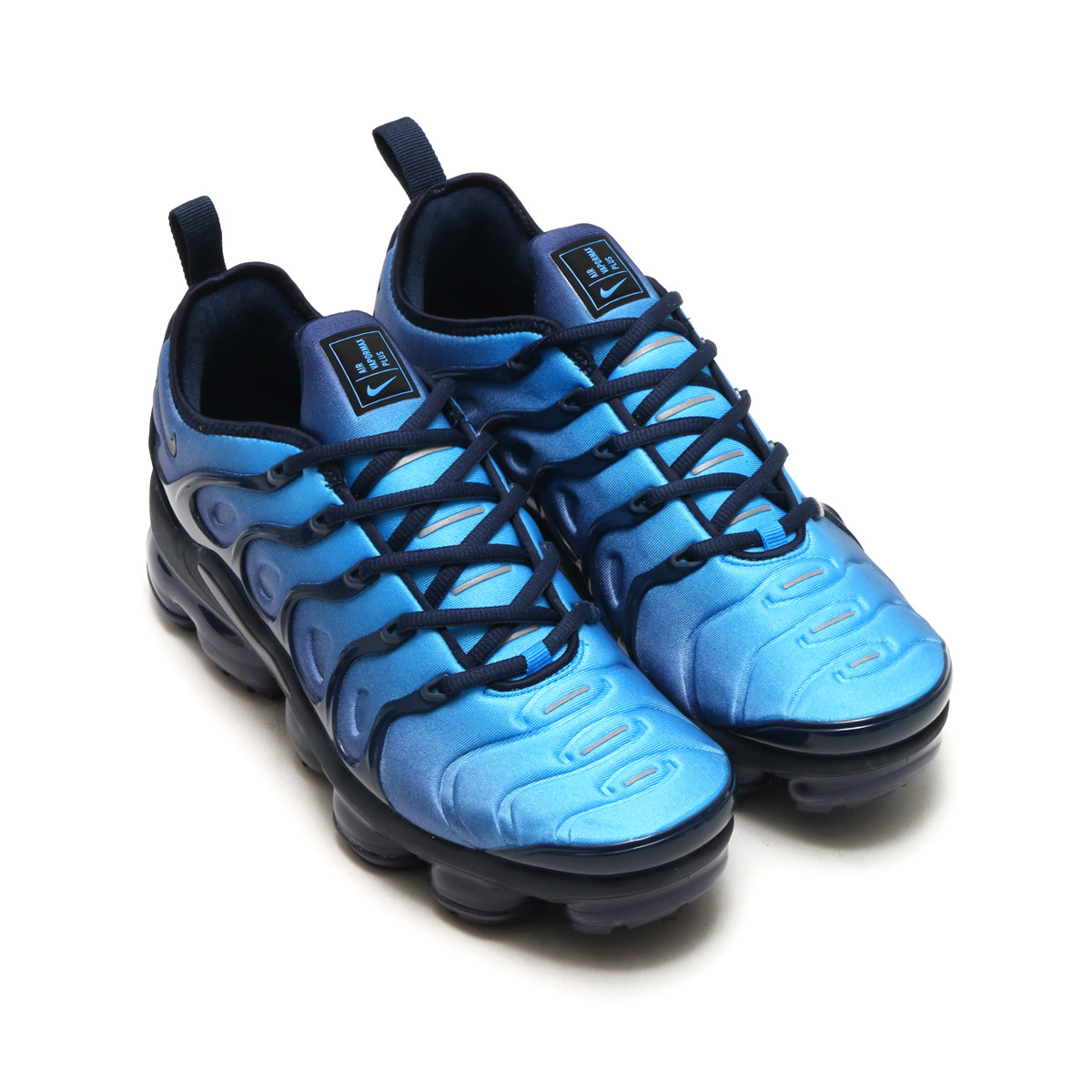 43030c094b9 NIKE AIR VAPORMAX PLUS (Nike air vapor max plus) (OBSIDIAN OBSIDIAN-PHOTO  BLUE-BLACK) 18SP-S
