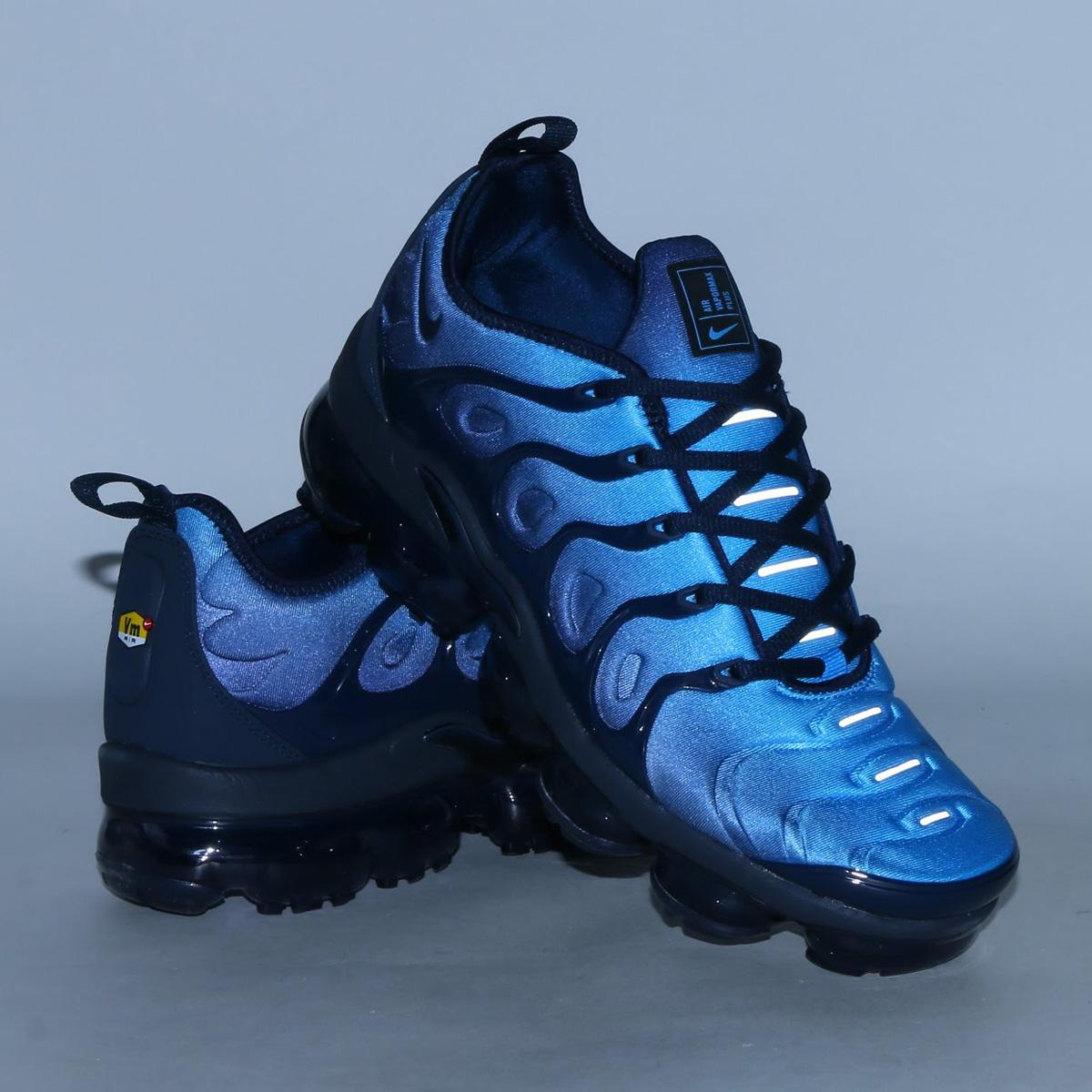 9948ccec14b NIKE AIR VAPORMAX PLUS (Nike air vapor max plus) (OBSIDIAN OBSIDIAN-PHOTO  BLUE-BLACK) 18SP-S