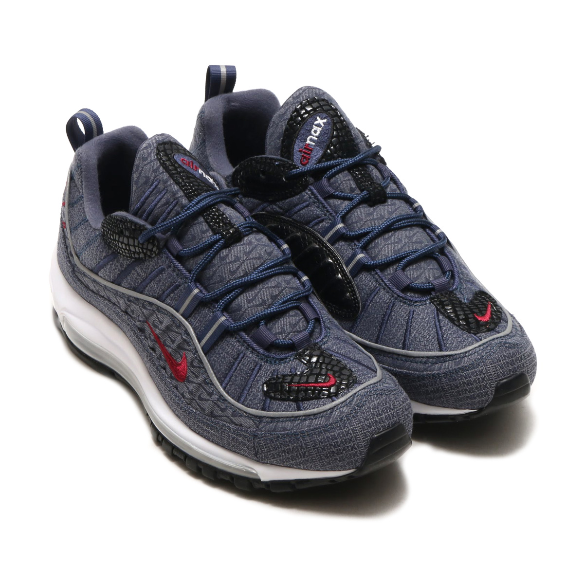 NIKE AIR MAX 98 QS(ナイキ エア マックス 98 QS)(THUNDER BLUE/TEAM RED-DIFFUSED BLUE)18SP-S