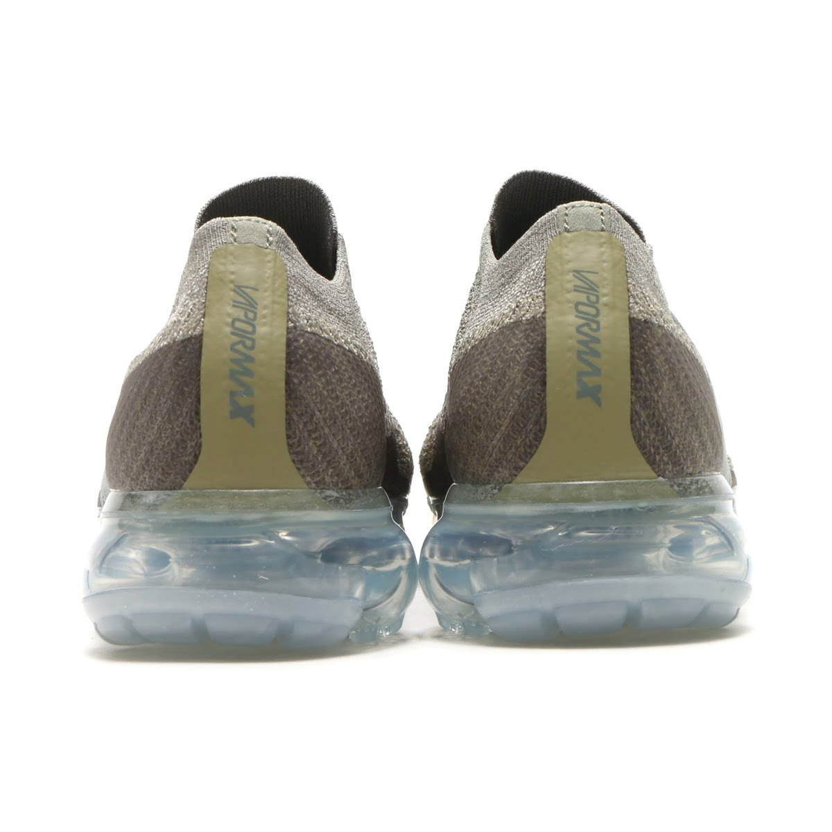 3dc40f8dff91e NIKE WMNS AIR VAPORMAX FK MOC (Nike women air vapor max fried food knit  mock) (DARK STUCCO CLAY GREEN-NEUTRAL OLIVE) 18SP-S