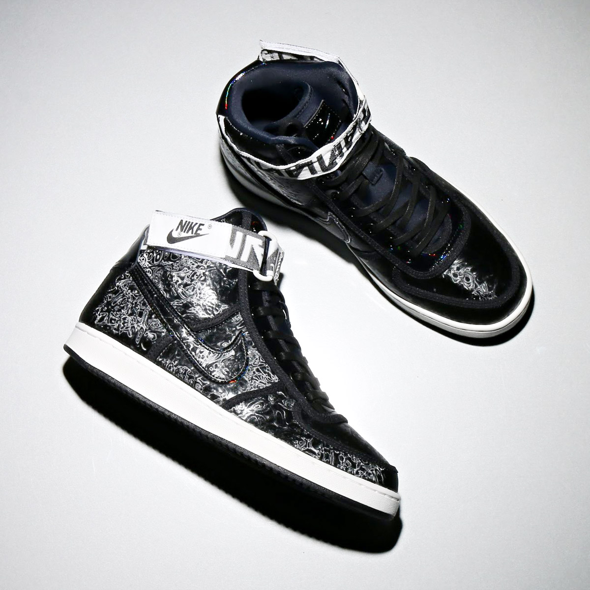 b5918ca29c79ff NIKE W VANDAL HI LX (Nike women Vandal high LX) (BLACK BLACK-SUMMIT WHITE )18SP-S