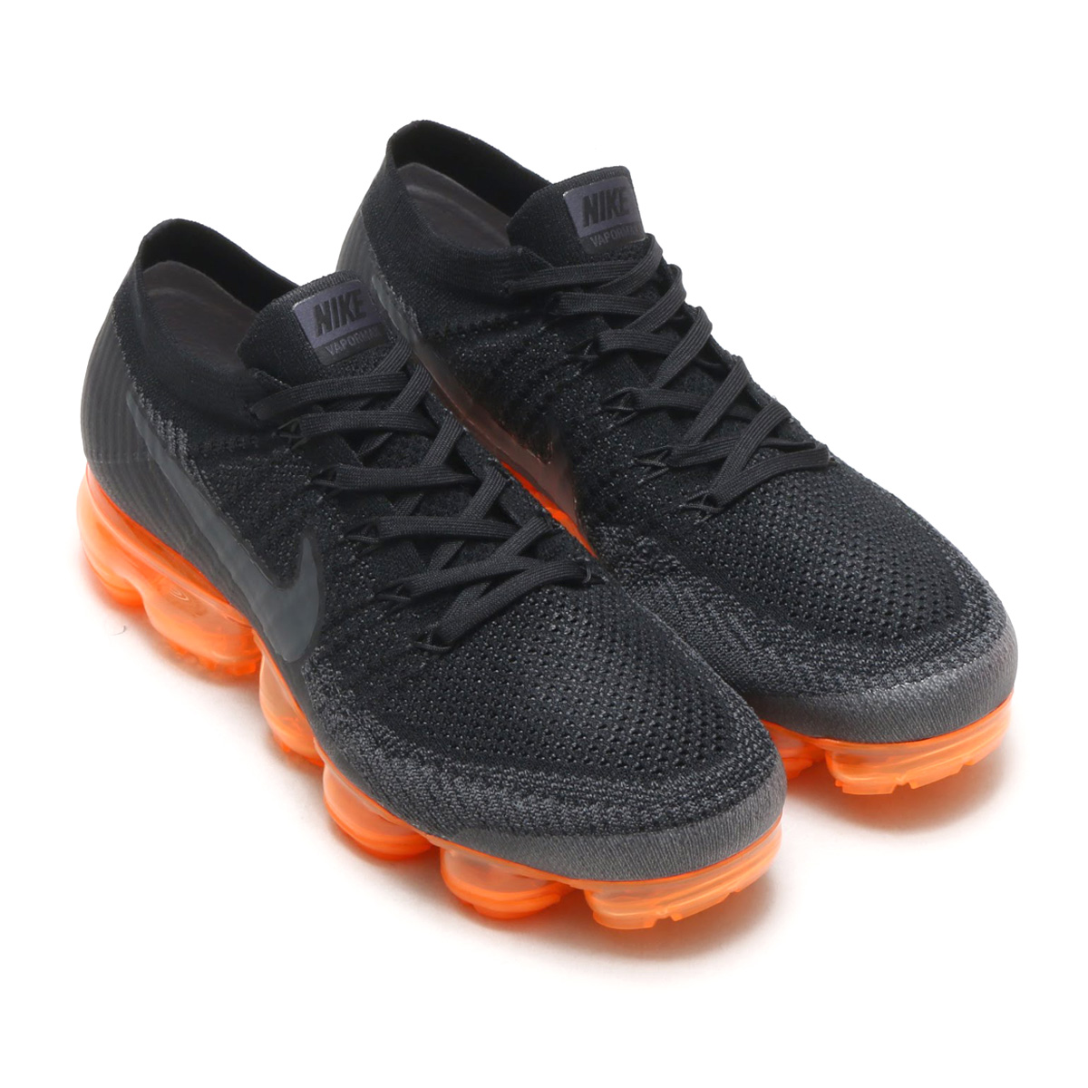 29b6f5a9383e9 NIKE AIR VAPORMAX FLYKNIT P (Nike air vapor max fried food knit P)  (ANTHRACITE ANTHRACITE-BLACK-RUSH ORANGE) 18SP-S