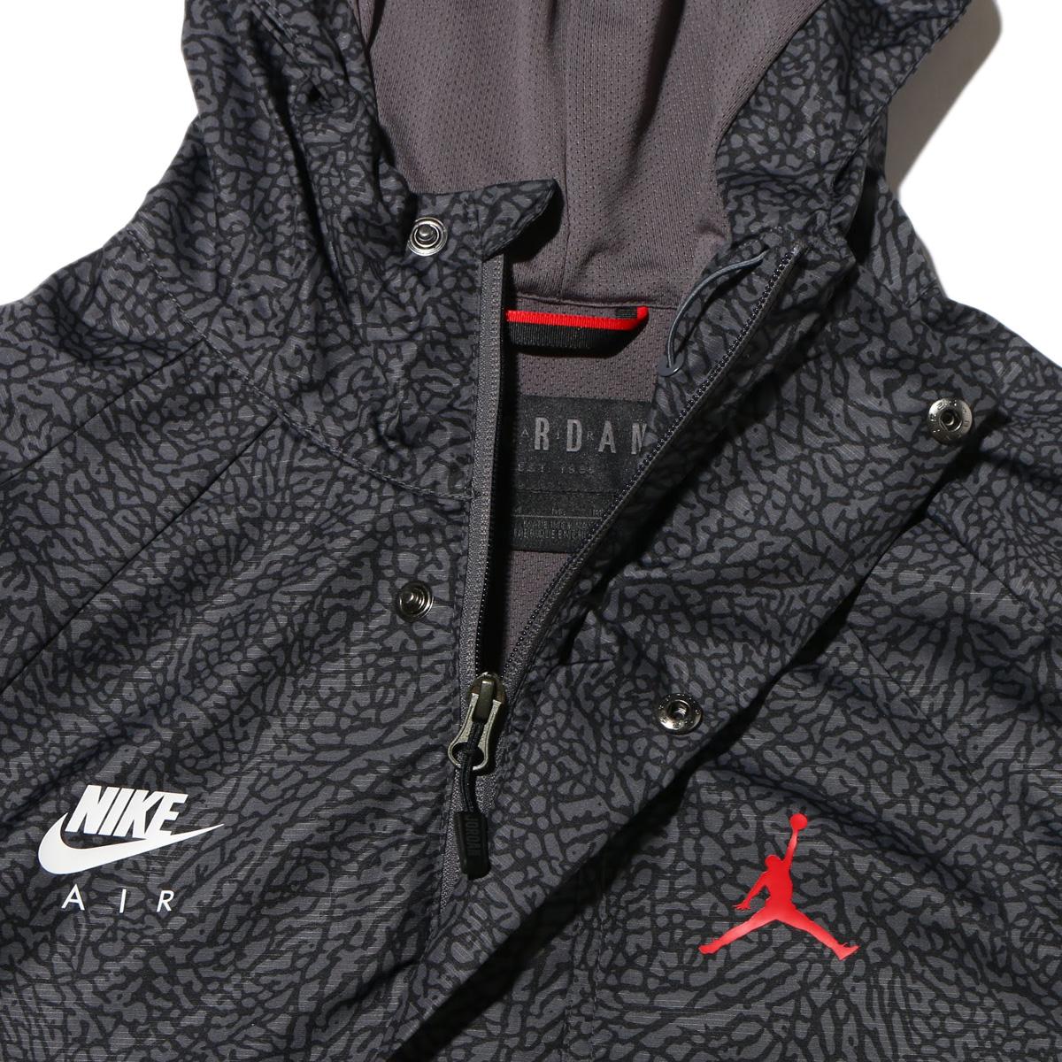 bec738b91d44 NIKE JSW WINGS 1988 ANORAK JKT (1988 Nike Jordan JSW wings anorak jackets)  (DARK GREY GYM RED)