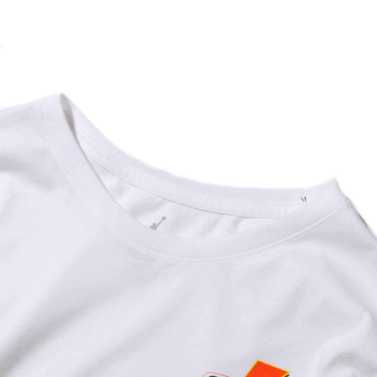 1fc21f7fb464 NIKE M JSW LS TEE BE LIKE MIKE VRBG (Nike Jordan like microphone Burbage  Longus Reeve T-shirt) (WHITE) 17HO-S