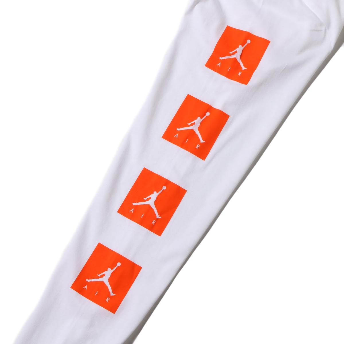 b195e93aaf09 NIKE M JSW LS TEE BE LIKE MIKE VRBG (Nike Jordan like microphone Burbage  Longus Reeve T-shirt) (WHITE) 17HO-S