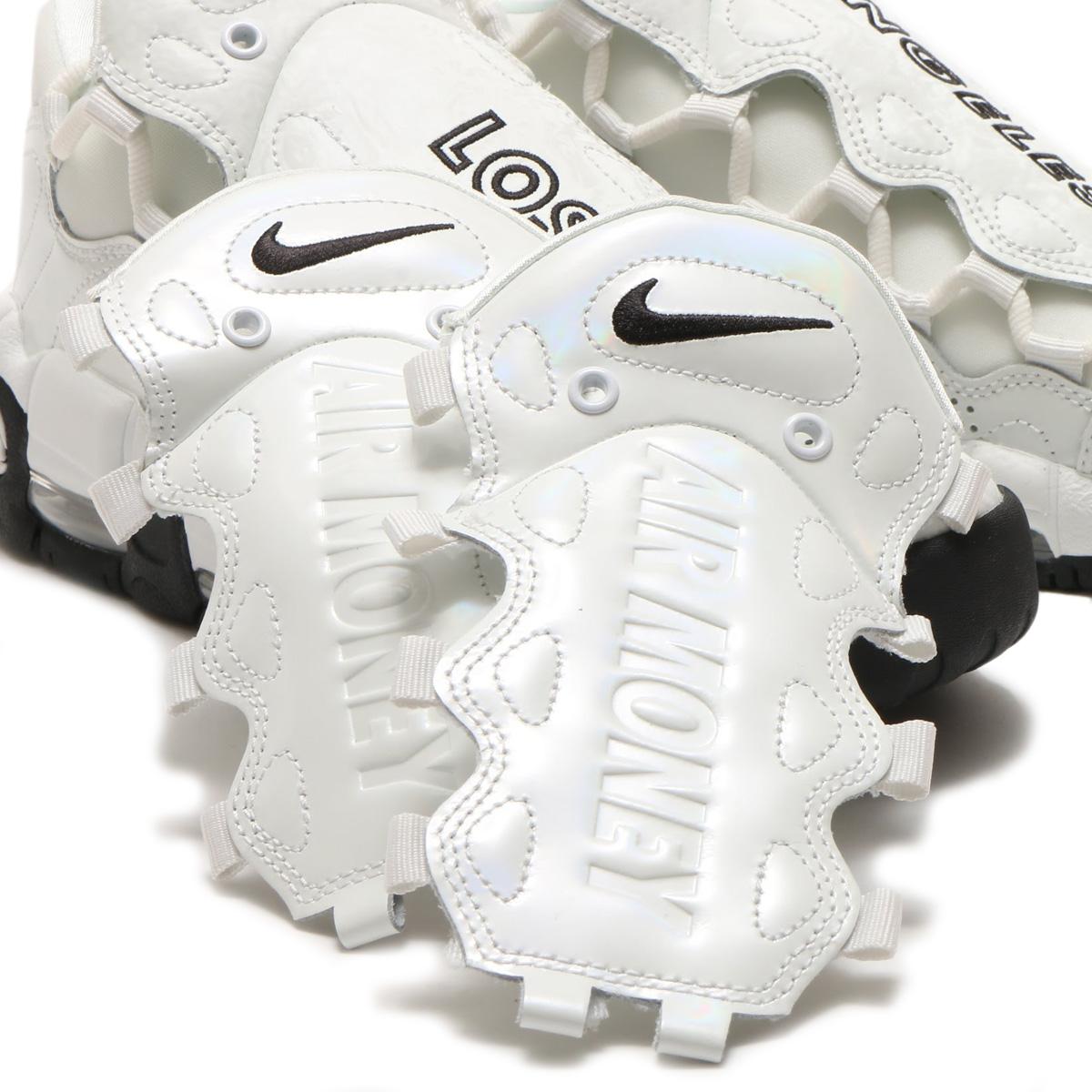 6d3814f31c7378 NIKE W AIR MORE MONEY LX (Nike women air more money LX) (SUMMIT WHITE SUMMIT  WHITE-BLACK)18SP-S