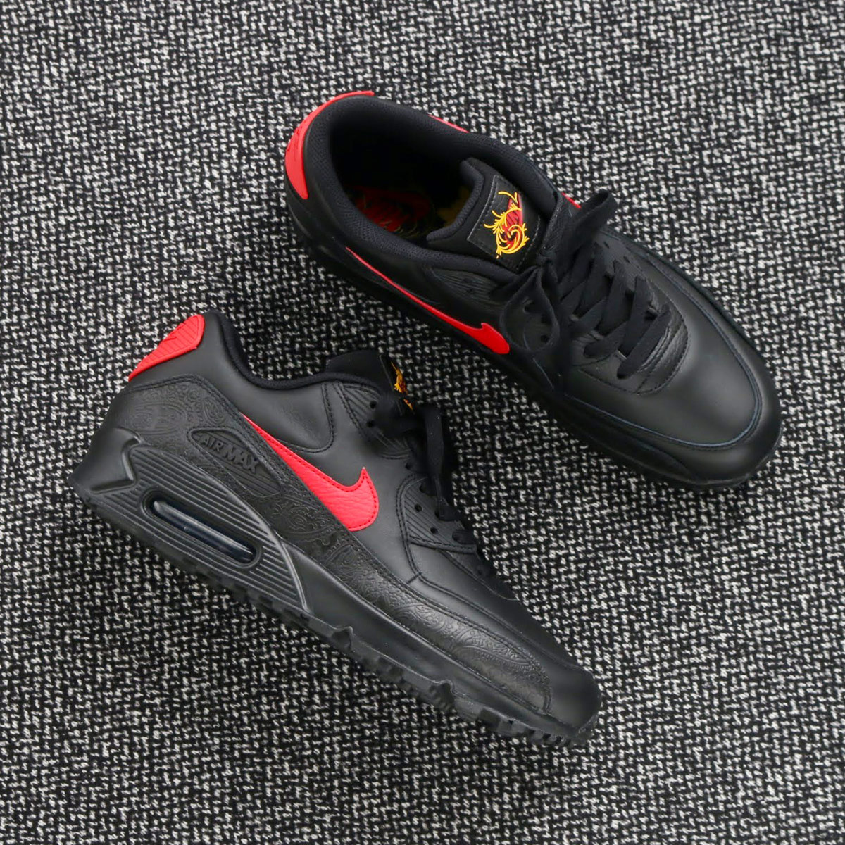 Nike Air Max 90 F BlackUniversity Red