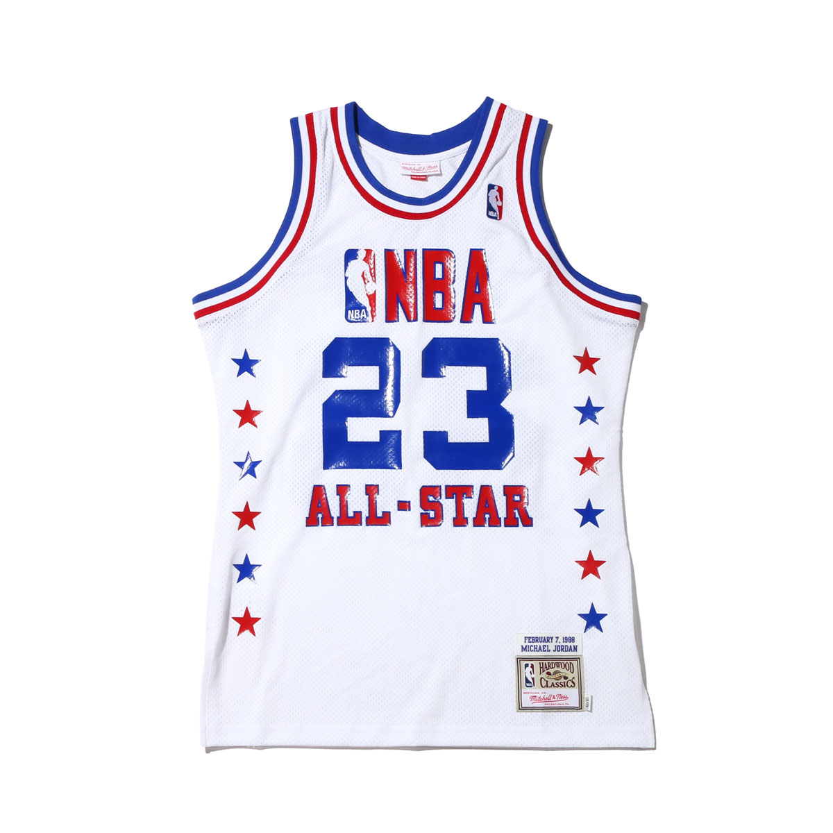 new styles 7ac29 ad806 Mitchell & Ness 1988 ASG EAST JERSEY #23 MICHAEL JORDAN (Mitchel andness  authentic basket jersey tops) (WHITE)