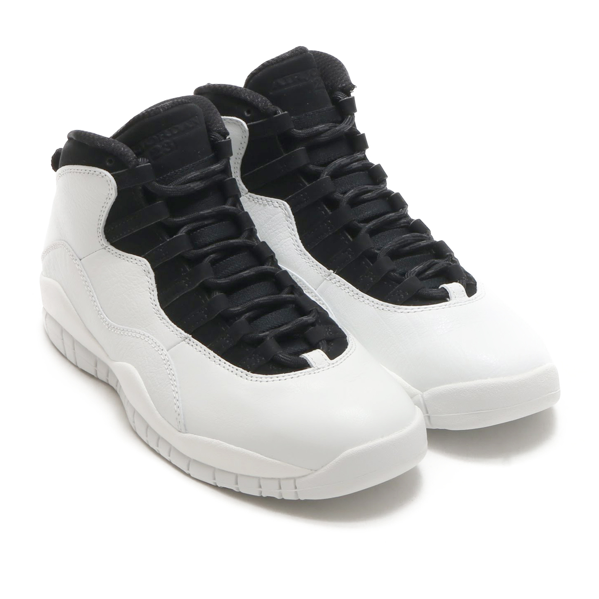 wholesale dealer 7cf89 83293 NIKE AIR JORDAN 10 RETRO (나이키 에어 조던 10 레트르) SUMMIT WHITE/SUMMIT WHITE-BLACK  18 SP-S
