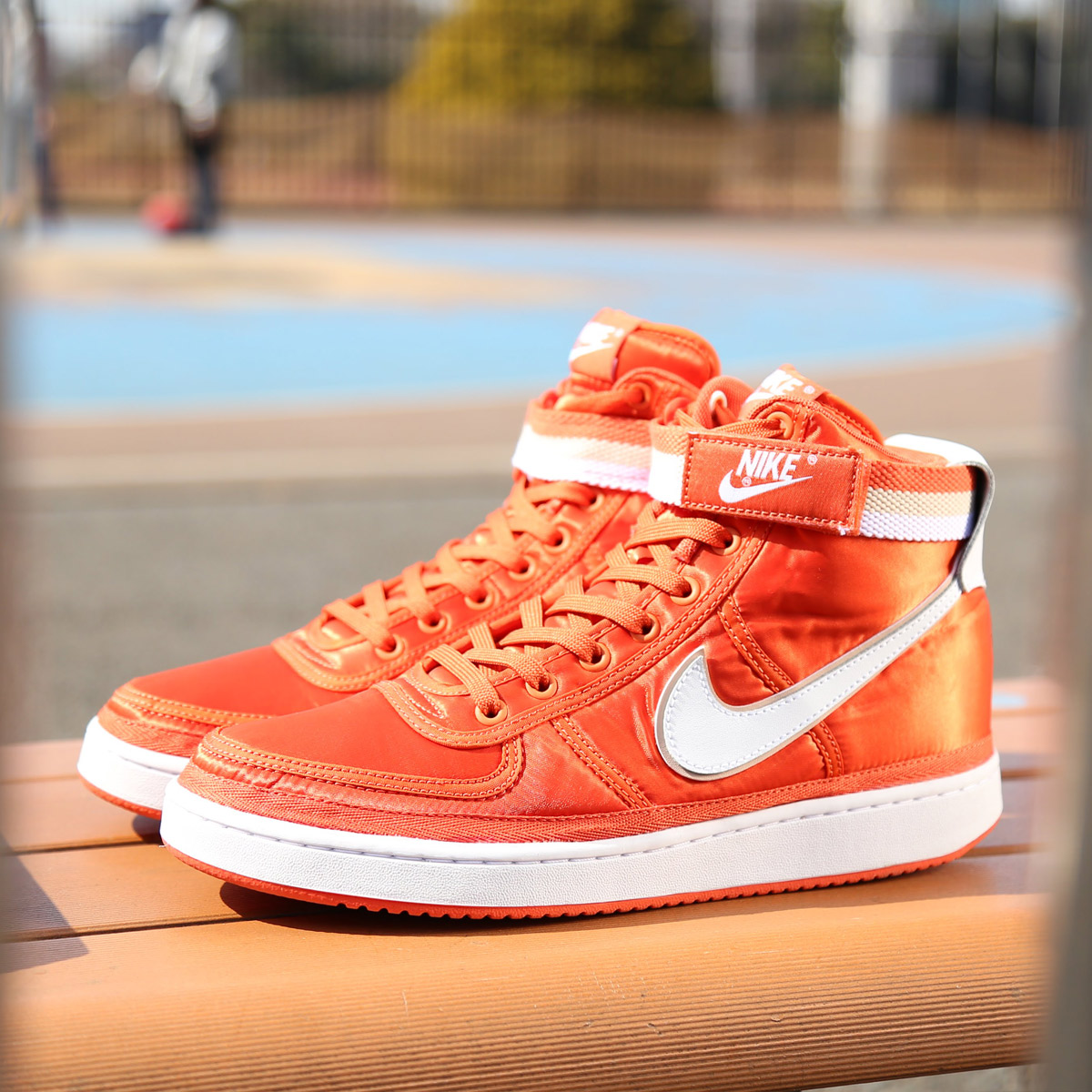 uk availability 761fd 04925 NIKE VANDAL HIGH SUPREME (ナイキバンダルハイサプリーム) (VINTAGE  CORALWHITE-WHITE-PARTICLE BEIGE) 18SP-S