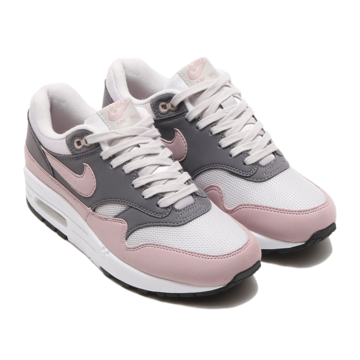 the best attitude f436a ce5fa ... NIKE WMNS AIR MAX 1 (Nike women Air Max 1) (VAST GREY  ...
