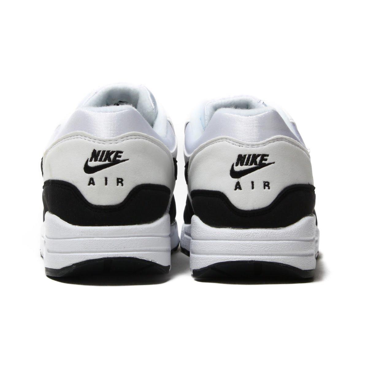 93e72dfef44 atmos pink  NIKE WMNS AIR MAX 1 (Nike women Air Max 1) WHITE BLACK ...