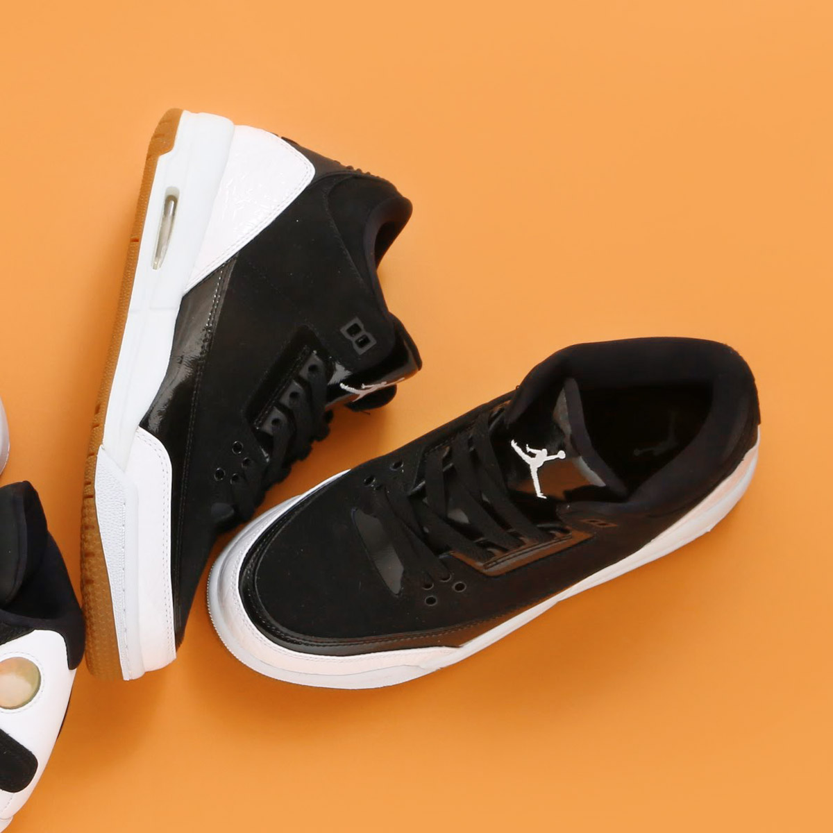 28a58deaee5b NIKE AIR JORDAN 3 RETRO GG (Nike Air Jordan 3 nostalgic GG) (BLACK WHITE-GUM  MED BROWN)18SP-S