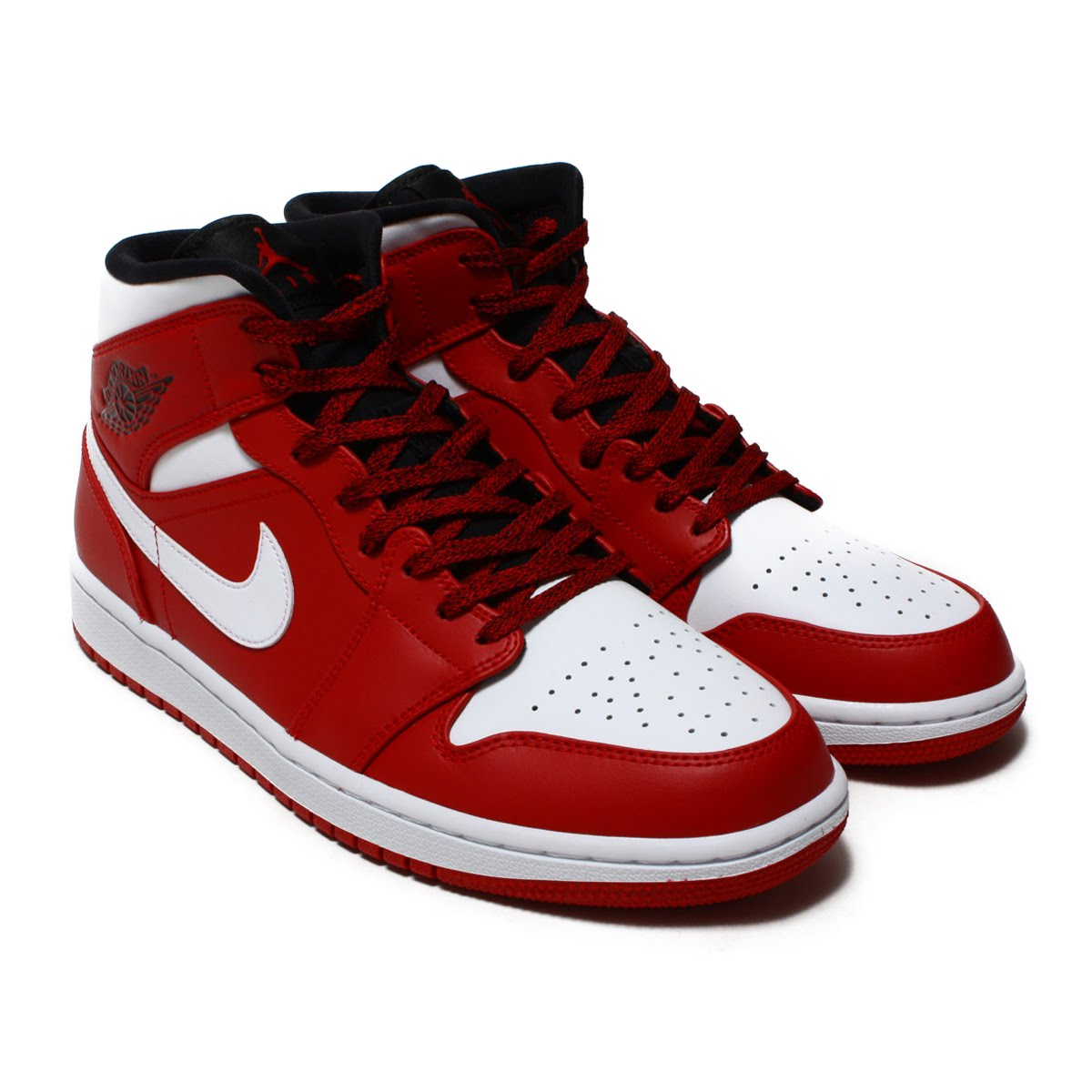 c19d4ddf244 atmos pink  NIKE AIR JORDAN 1 MID (Nike Air Jordan 1 mid) GYM RED ...