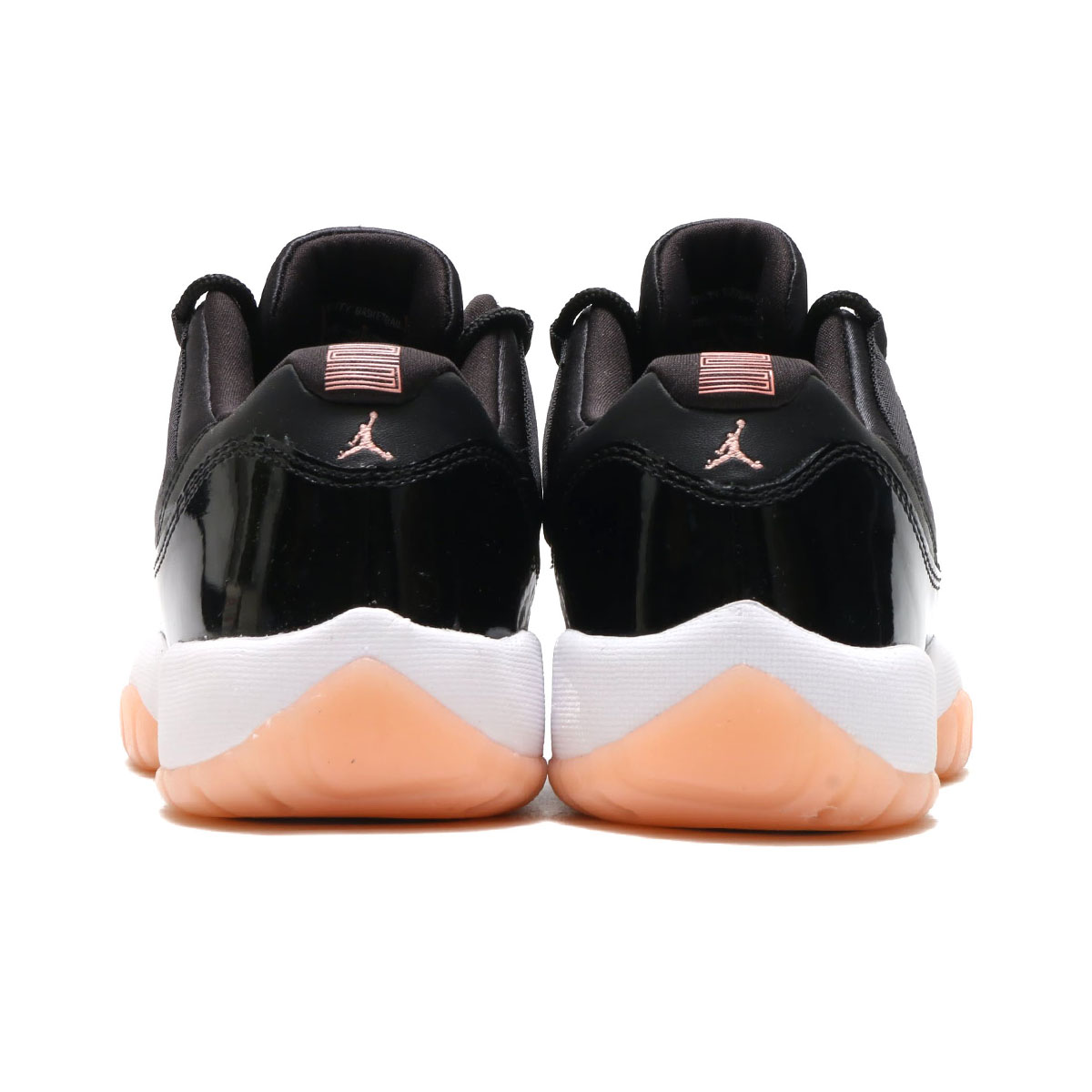 d5462662 NIKE AIR JORDAN 11 RETRO LOW GG (Nike Air Jordan 11 nostalgic low GG)  (BLACK/BLEACHED CORAL-WHITE) 18SU-S