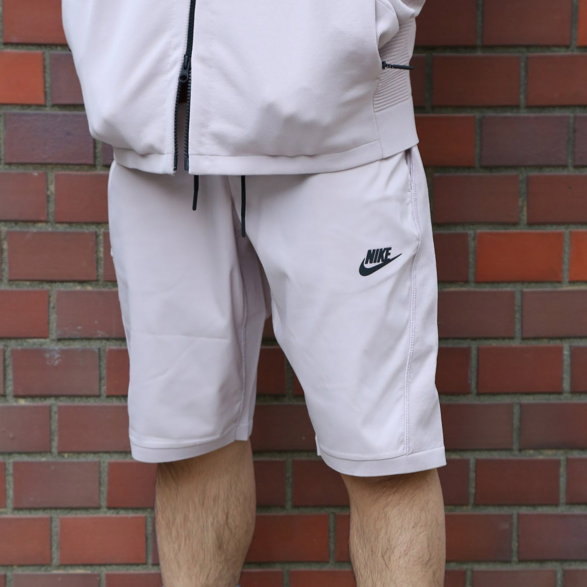 NIKE AS M NSW TCH KNT SHORT(ナイキ テック ニット ショート)(PARTICLE ROSE/BLACK)【メンズ】18SU-S