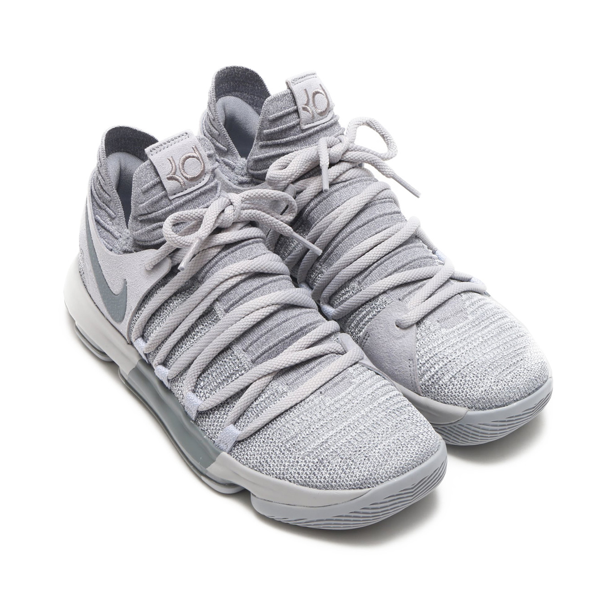 best deals on ded2d 6ba3c NIKE ZOOM KD10 EP (Nike zoom KD 10 EP) (WOLF GREY COOL GREY) 18SP-S