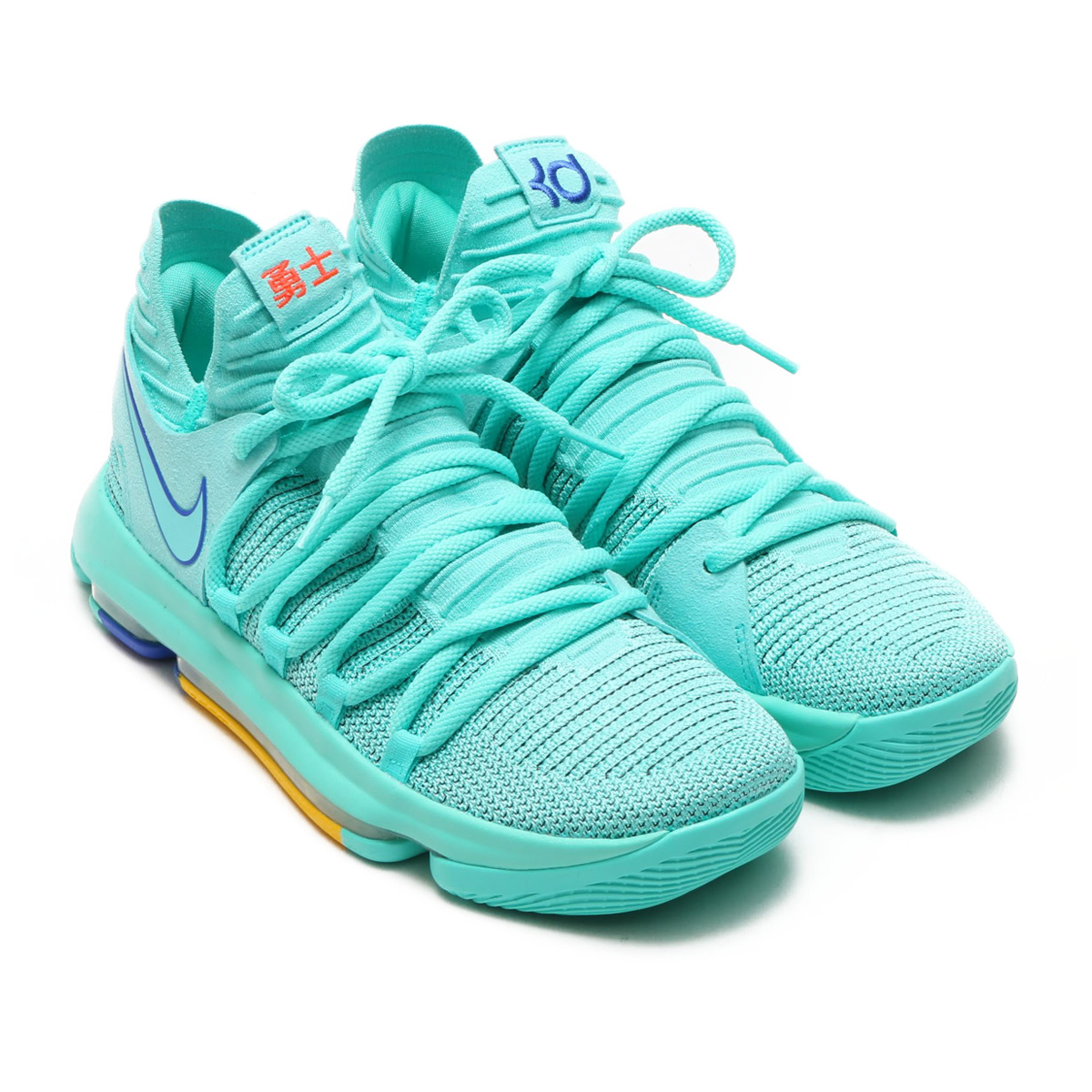 NIKE ZOOM KD10 EP(ナイキ ズーム KD 10 EP)(HYPER TURQ/RACER BLUE-TOTAL CRIMSON)18SU-S