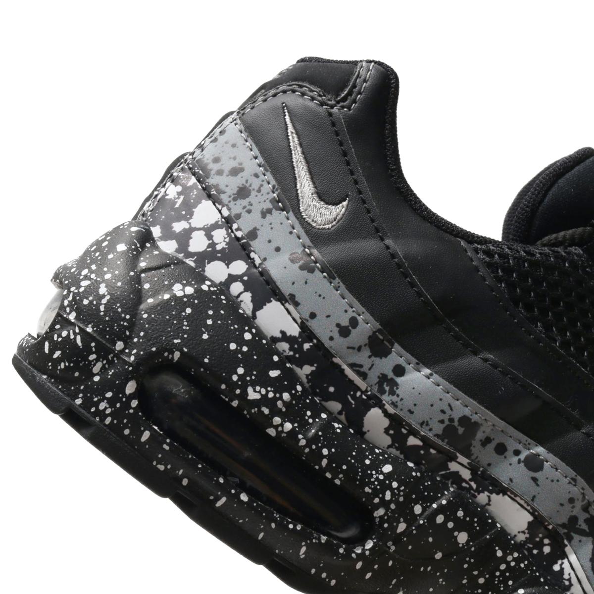 NIKE WMNS AIR MAX 95 SE (Nike women Air Max 95 SE) (BLACK BLACK-WHITE)  18SU-S e287b9572