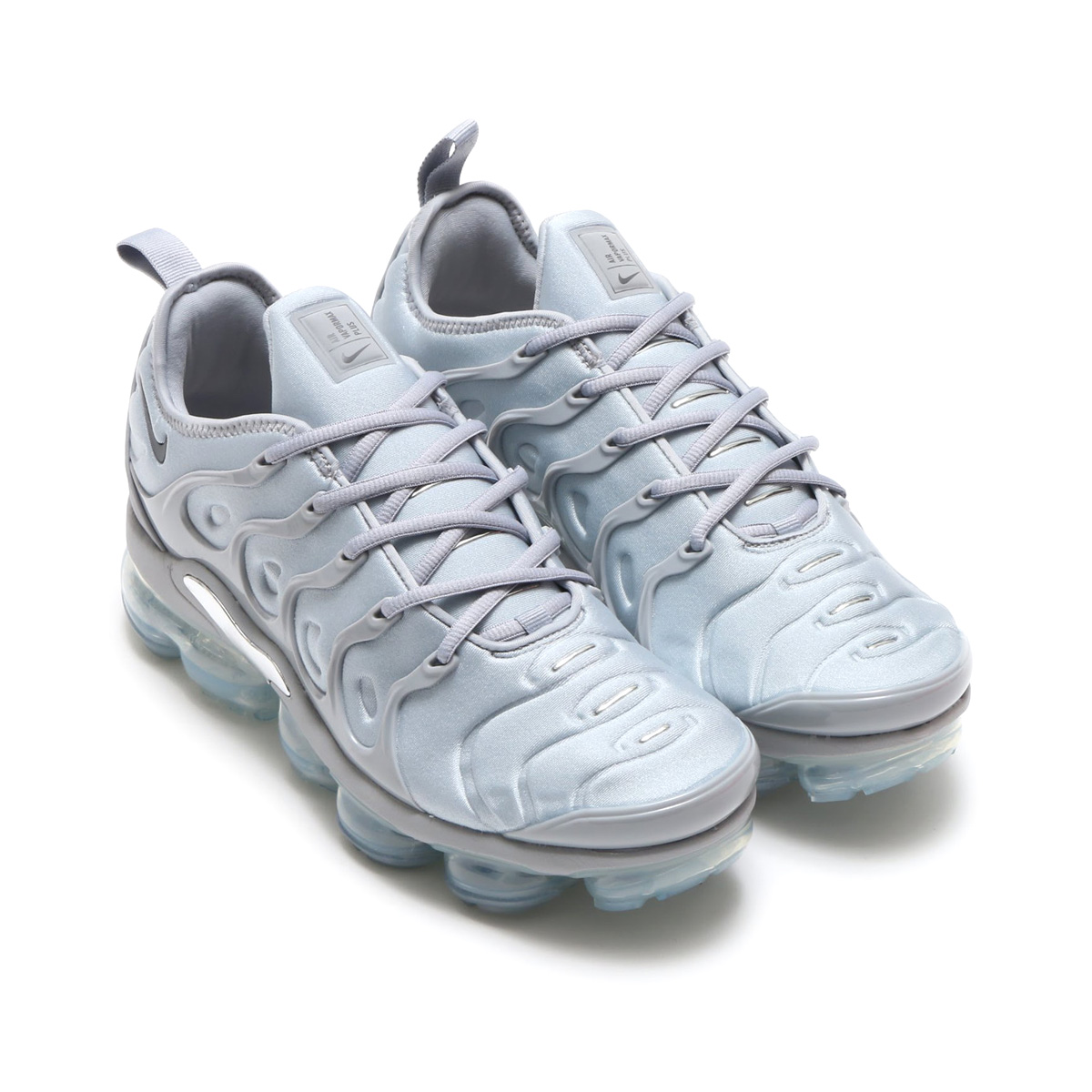 NIKE AIR VAPORMAX PLUS (Nike air vapor max plus) (WOLF GREY DARK GREY-METALLIC  SILVER)18SP-S 450a3f8bb