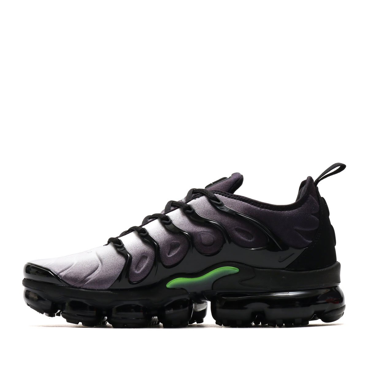 2659561c27ab7f NIKE AIR VAPORMAX PLUS (Nike air vapor max plus) (BLACK VOLT-WHITE) 18SU-S