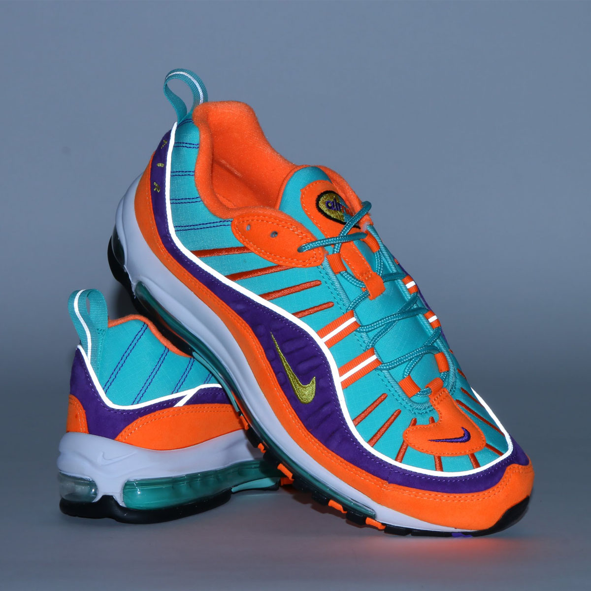 ccb405d81aa92c NIKE AIR MAX 98 QS (Kie Ney AMAX 98 QS) (CONE TOUR YELLOW-HYPER GRAPE)18SP-S
