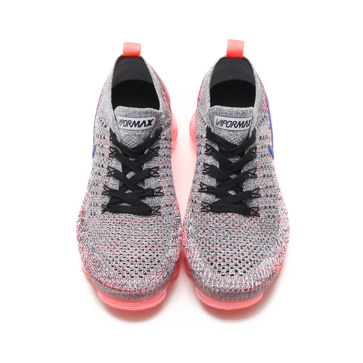 543158d2ab5a NIKE W AIR VAPORMAX FLYKNIT 2 (Nike women air vapor max fried food knit 2)  (WHITE ULTRAMARINE-HOT PUNCH-BLACK) 18SU-S