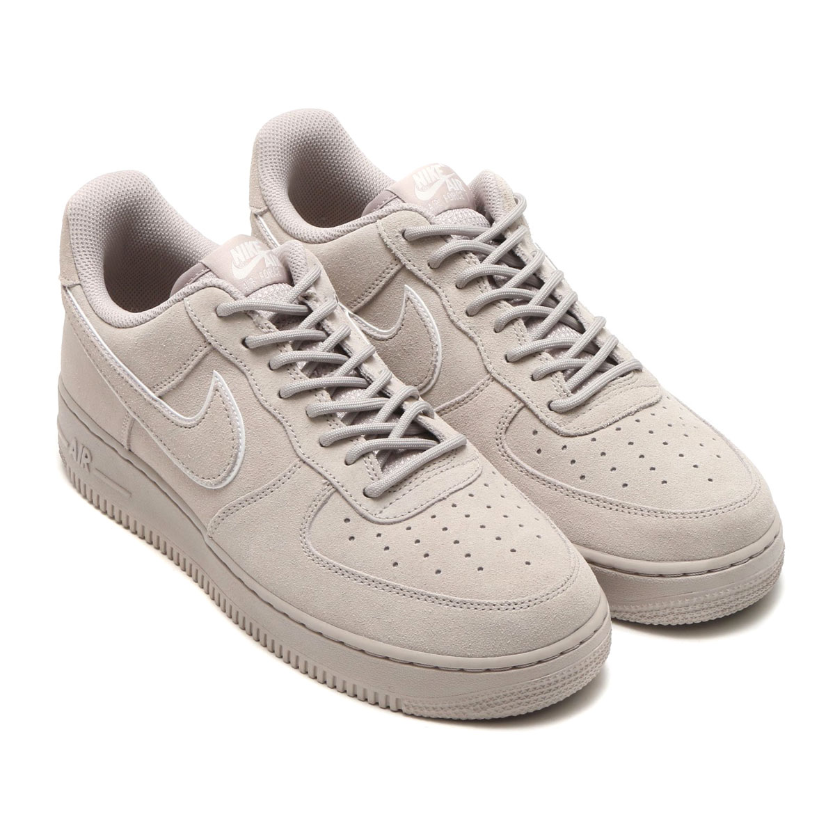 bbecf5d51a8 NIKE AIR FORCE 1  07 LV8 SUEDE (Nike air force 1 07 LV8 suede) (MOON  PARTICLE MOON PARTICLE-SEPIA STONE) 18SU-I