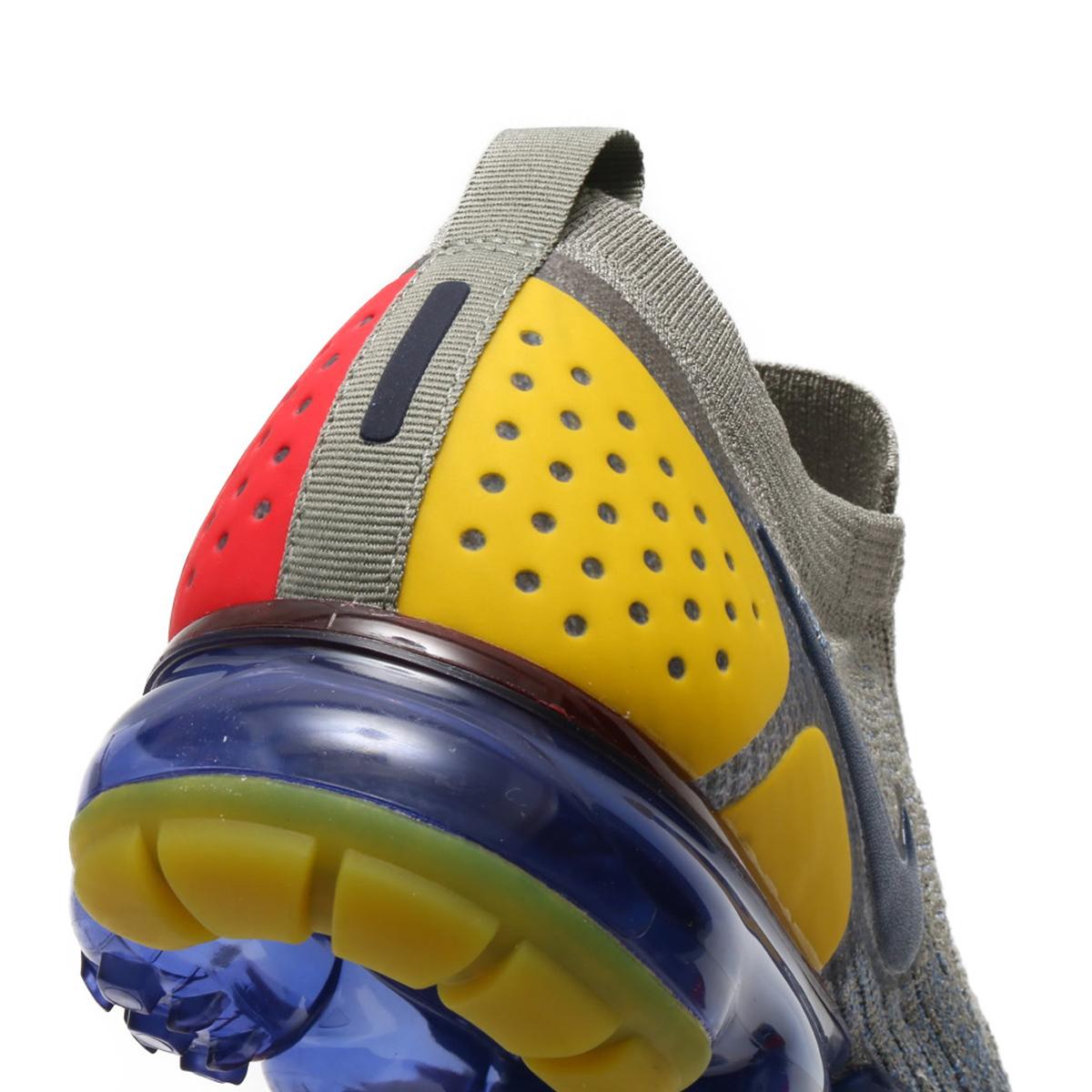 db7d62ceecb0 NIKE AIR VAPORMAX FK MOC 2 (Nike air vapor max fried food knit mock 2) DARK  STUCCO MIDNIGHT NAVY-OCEAN FOG 18SU-S