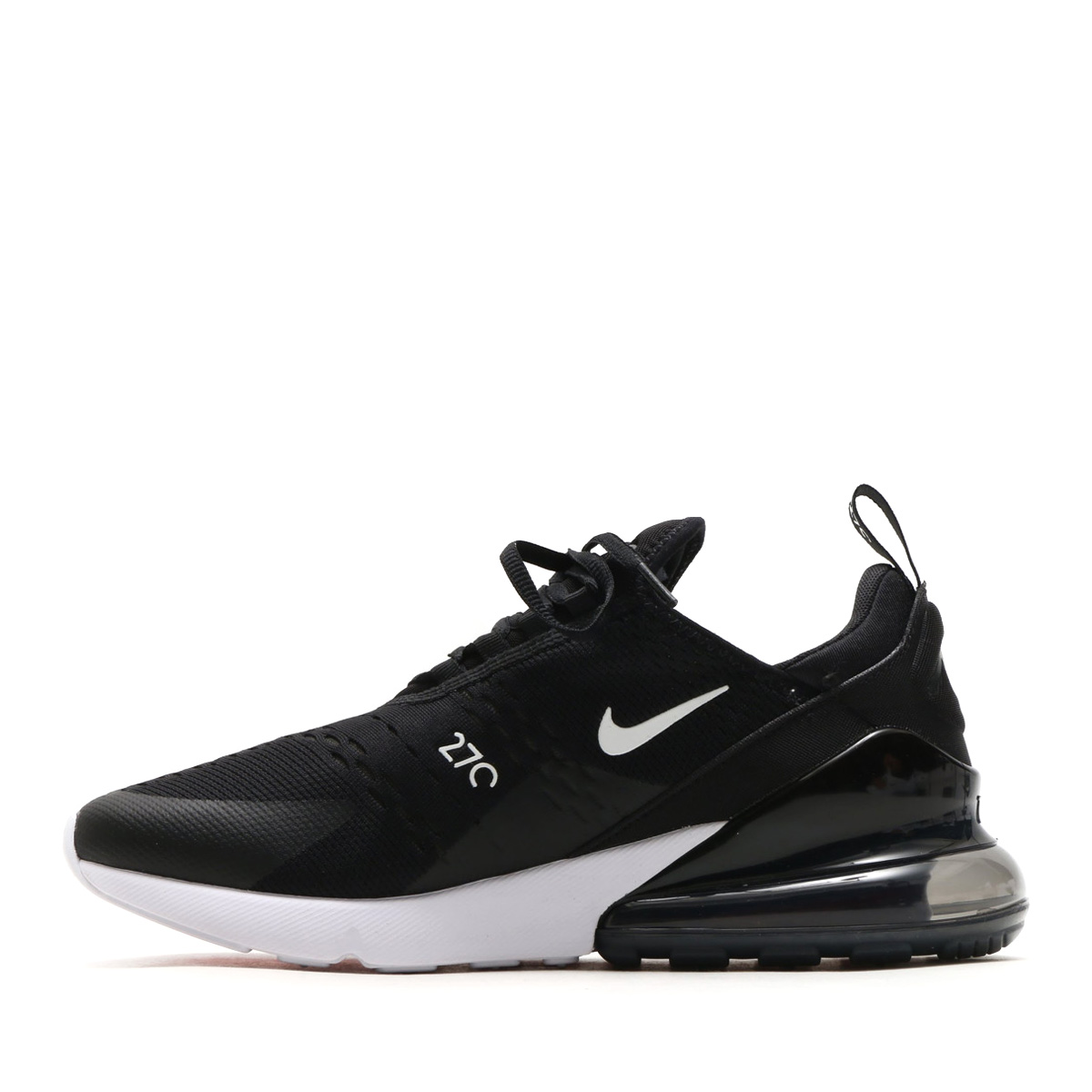 78f5361a42a5 NIKE AIR MAX 270 (Kie Ney AMAX 270) (BLACK ANTHRACITE-WHITE-SOLAR RED) 18SP- S