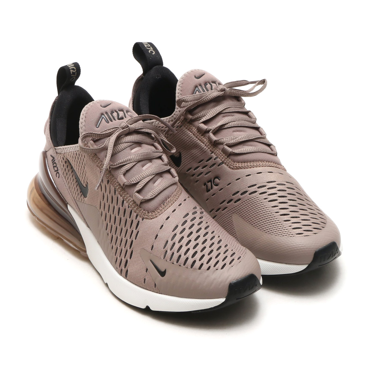 018932d8fcad62 NIKE AIR MAX 270 (Kie Ney AMAX 270) SEPIA STONE BLACK-SUMMIT WHITE 18SP-S