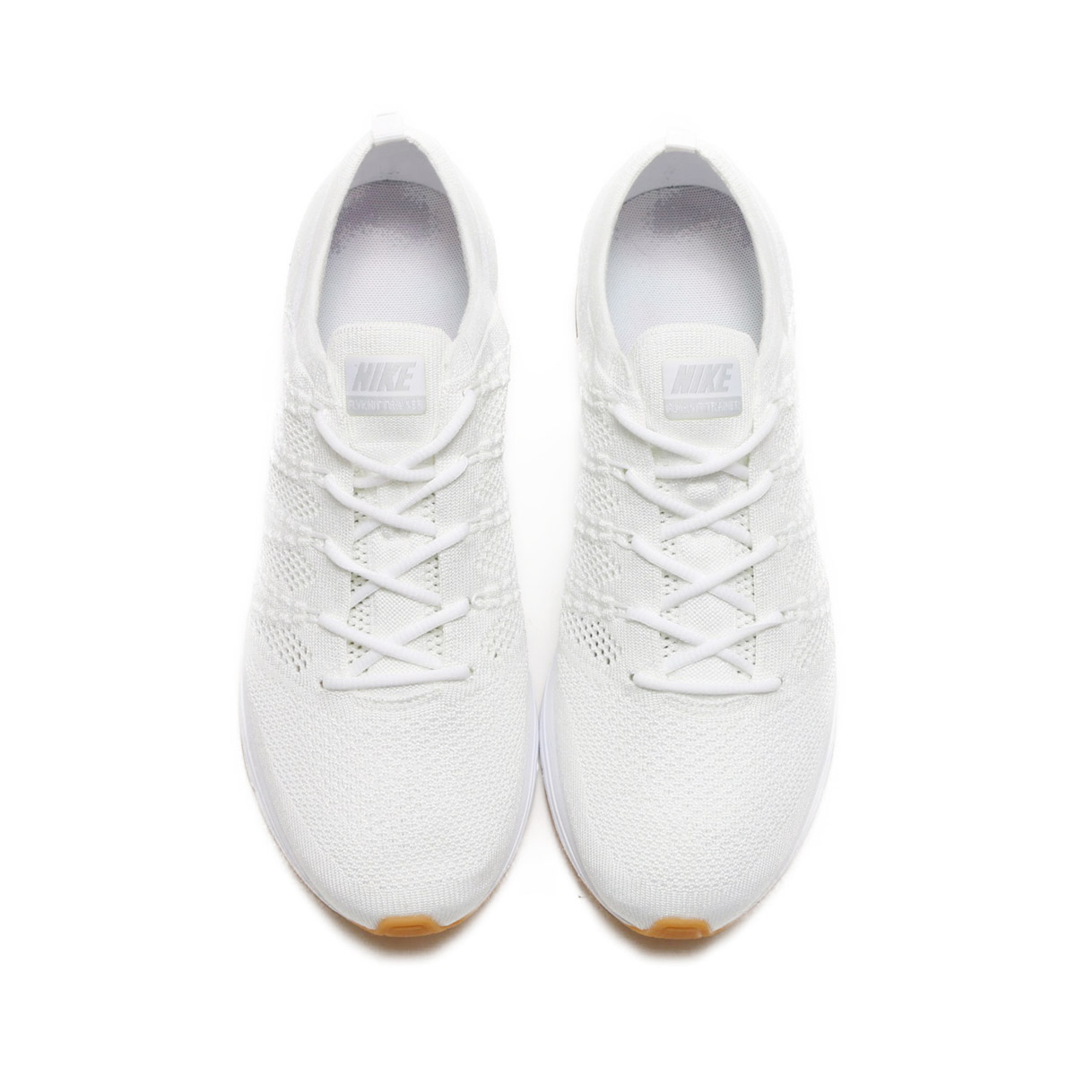 22a9bdfb8c2c NIKE FLYKNIT TRAINER (Nike fried food knit trainer) (WHITE WHITE-WHITE-GUM  LIGHT BROWN) 18SU-S