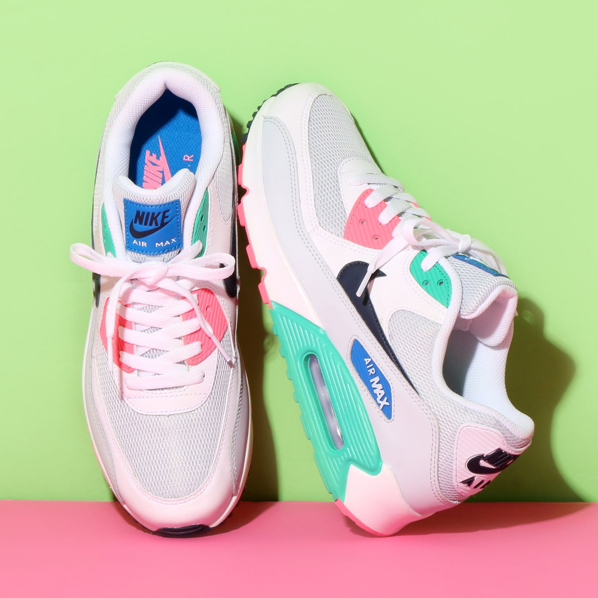 best nike air max 90 blue pink cda4e 0f724