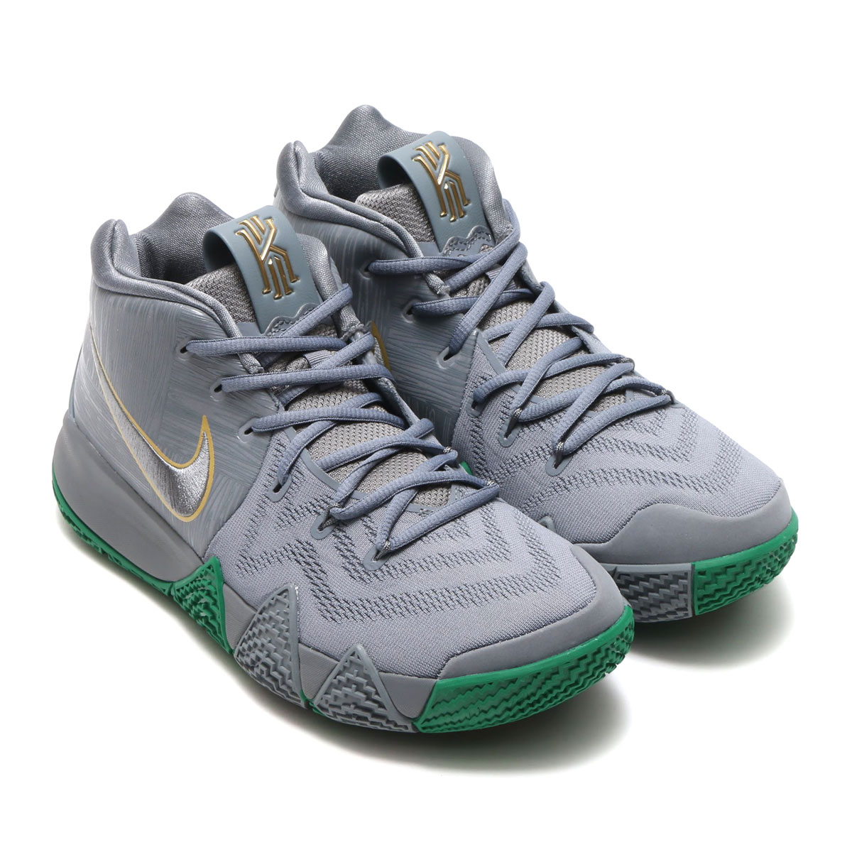 db1f4045ce3e atmos pink  NIKE KYRIE 4 EP (Nike chi Lee 4 EP) (COOL GREY COOL GREY ...