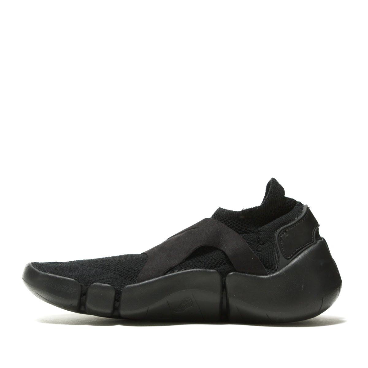 6162ad38c3cc NIKE FOOTSCAPE FLYKNIT DM (Nike feet cape fried food knit DM) BLACK BLACK- BLACK 18SP-I
